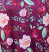 Cranberry Florals