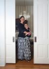 Vintage Girls Stripe Ruffle Skirt