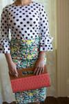 Modest It's Floral time Pencil Skirt