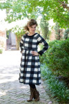 Modest The Gingham Sweater Dress