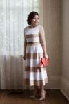 Chic Lady Dress (Tan)