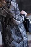 Vintage Girls Ever-So-Lovely Dress In Black/Cream