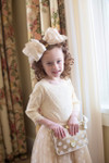 Vintage Girls Tutu Skirt (Cream)