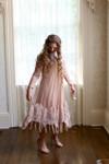 Vintage English Rosemary Dress Beige