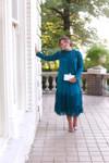 Vintage English Rosemary Dress