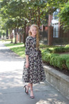 Modest Counting Petals Dress