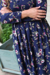 Modest Poppies and Posies Dress