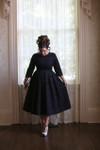 Vintage Hepburn Classic Dress