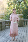 Vintage Hamptons Dinner Dress Blush