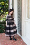 Vintage Little French Chateau Dress