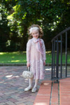 Vintage Little English Rosemary Dress (Blush)