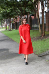 Modest Jaqueline Kennedy Dress