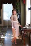 Vintage Fur Elise Dress
