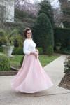 Modest Fluttering Fancy Skirt
