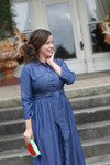 Modest Sunshine and Sweet Tea Denim Dress