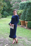 Modest The Charlotte Dress (Navy)