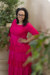 Hot Pink Modest Dreaming in Vintage