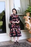 Vintage She Walks in Beauty Dress