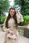 Modest Sugar Blossom Dress