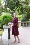Modest Whimsical Feather Dress