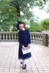 Modest Little Pom Pom Dress