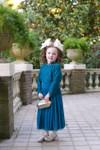 Vintage Little Exquisite English Manor Dress