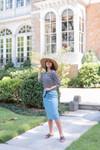 The Original Scalloped Pencil Skirt