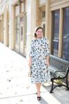 Modest Feathering Fancy Dress