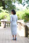 Simply You Dress (Blue)