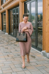 Chic in Scallops Dress (4 Colors)
