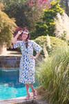 Geometric Swim Dress