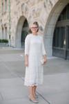 Lady in Lace Dress