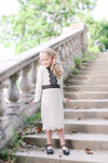 Parisian Soiree Dress for Girls