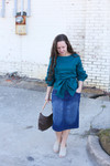 Comfiest Denim Skirt (3 Colors)