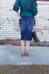 Comfiest Denim Skirt (3 Colors)