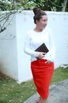 Color Denim Skirt (5 Colors)