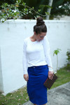 Color Denim Skirt (5 Colors)