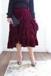 Vintage Velvet Skirt (3 Colors)