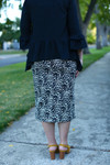 Leopard Denim Skirt (2 Colors)