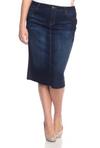 Dark Wash Denim Skirt