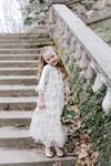 French Vineyard Dress for Girls