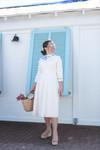 Petals & Pleats Dress (2 Colors)