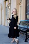 Little Ebony Elegance Dress