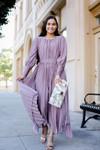 Amethyst Elegance Dress