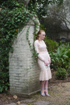 Blush Vintage Sweet Peony Dress