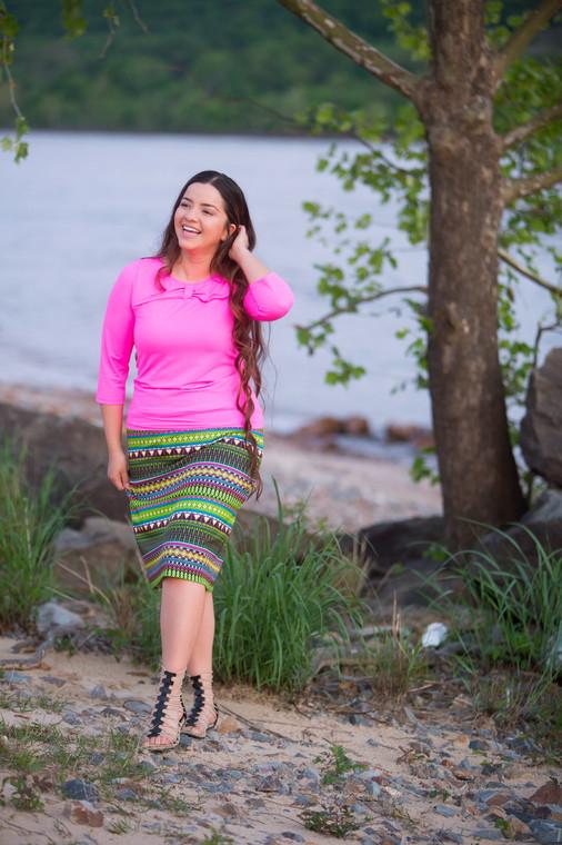 Straight Swim Skirt (4 Colors)