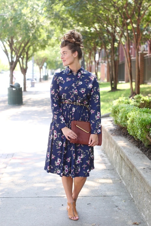 Poppies and Posies Dress