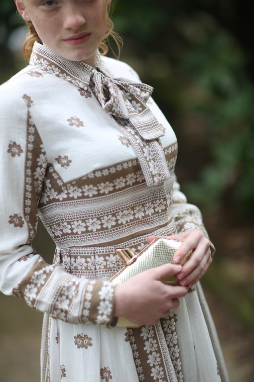Vintage French Parlor Dress