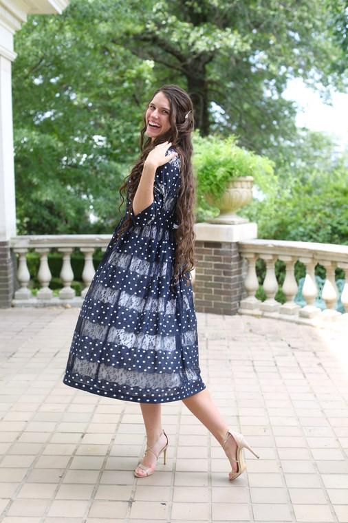 Modest Sweetheart Dress