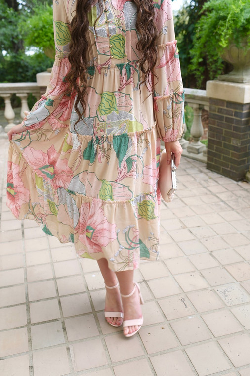 Modest Sugar Blossom Dress